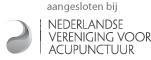Aangesloten bij de Nederlandse Vereniging voor Acupunctuur